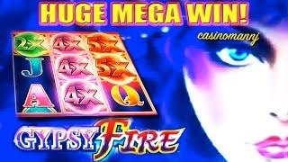 GYPSY FIRE Slot - *HUGE MEGA SLOT WIN!!!* - Slot Machine Bonus