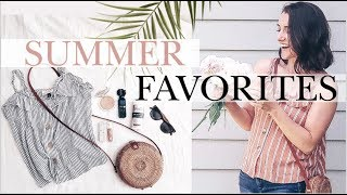Summer Must-Haves!   MY FAVORITE THINGS   Beauty, Lifestyle, Kids' Stuff + More!   Natalie Bennett