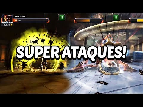 Reacción | SUNSPOT y WARLOCK Super Ataques | Brutales! - Marvel Contest Of Champions