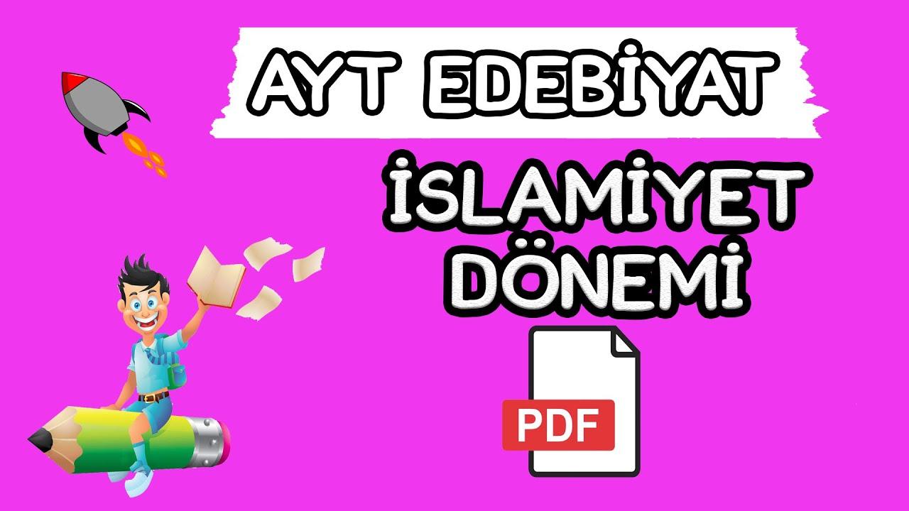 7)Kadir GÜMÜŞ - İslami Dönem Türk Destanları / Geçiş Dönemi - II (AYT-Türk Dili ve Edebiyatı)2022