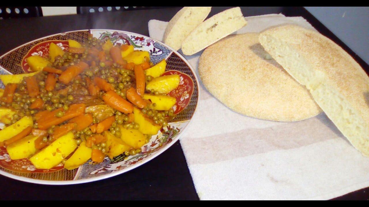 Como hacer pan marroquí / cocina del mundo /comida