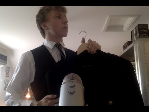 ASMR English Gentlemen's Suit Fitting (Soft Spoken and Whispered) Personal Attention