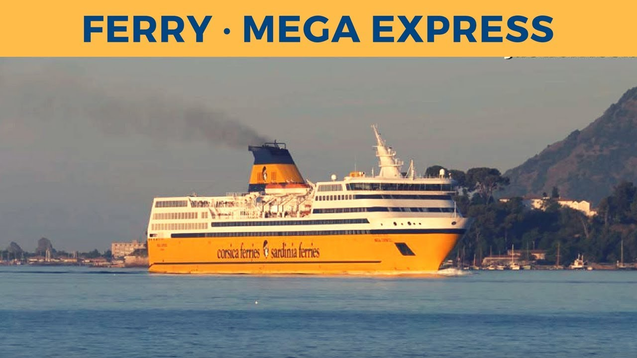arrival of ferry mega express in toulon corsica sardinia ferries youtube. Black Bedroom Furniture Sets. Home Design Ideas