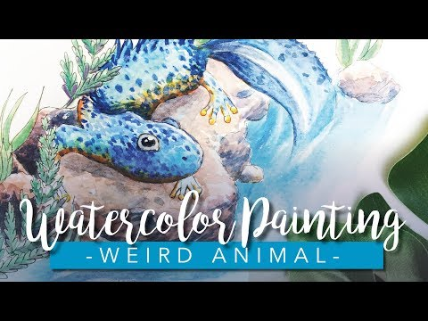 Animal Watercolor Painting | Animal Artists Collective