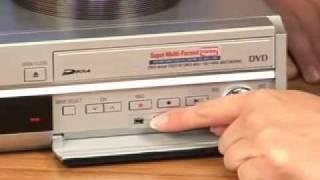 Panasonic- DMR DVD VCR Recorder Combo