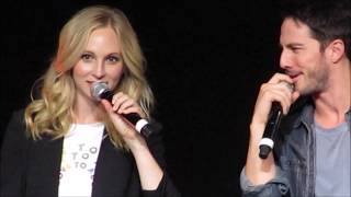 Bloody Night Con Europe 2018 - Candice King&Michael Trevino panel