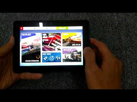 Test Kindle Fire HDX 7 chơi game liên quân, AP 8, Fifa, Rom 7.1.2