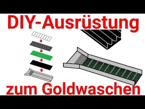 diy ausr stung zum goldwaschen in deutschland. Black Bedroom Furniture Sets. Home Design Ideas