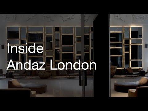 Inside Andaz London