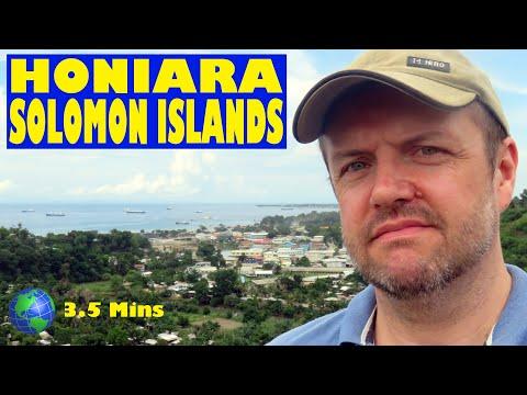 Honiara, Solomon Islands: a 3.5 Minute Video
