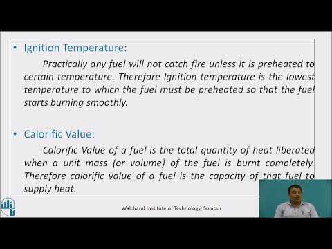 Fuel - Definition, classification and properties
