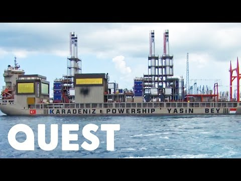 Attempting To Anchor A Massive Power Ship Securely Enough To Supply Electricity | Mighty Ships