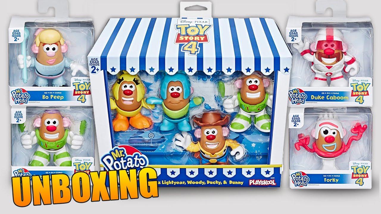 Toy Story 4 Senor Cara De Papa Personaje Woody Buzz Lightyear Forky Duke Caboom