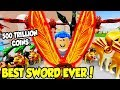 BUYING THE *NEW* BEST SWORD IN WARRIOR SIMULATOR!! *MOST EXPENSIVE* (Roblox)
