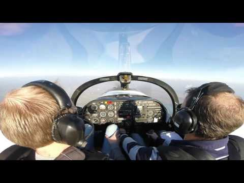 Aerobatics flying in a Slingsby T67 Firefly