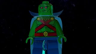 LEGO BATMAN 3 - MARTIAN MANHUNTER FREE ROAM GAMEPLAY