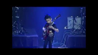Jeremy Yong - Eruption, Paranoid, Final Countdown (rock medley) - kid guitarist