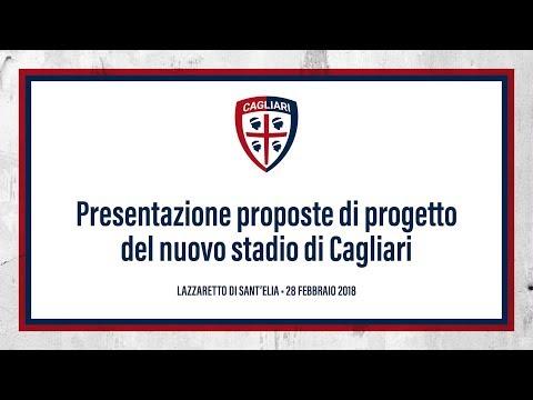 Presentazione dei progetti del nuovo stadio del Cagliari   #lanostraCasa
