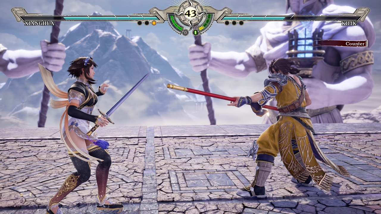 SOULCALIBUR 6 - Kilik vs Xianghua Gameplay [4K Ultra HD ...