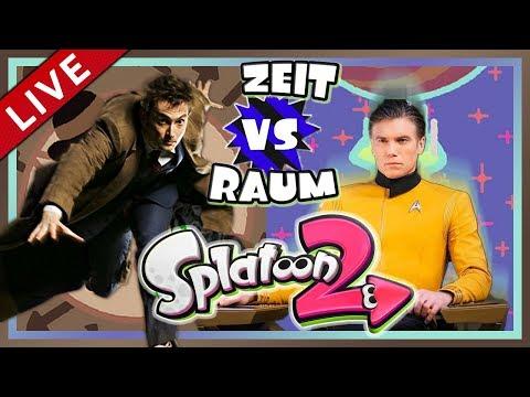 SPLATOON 2 Splatfest #22: Wibbly Wobbly! Timey Wimey! [1080p] ★ Let's Play