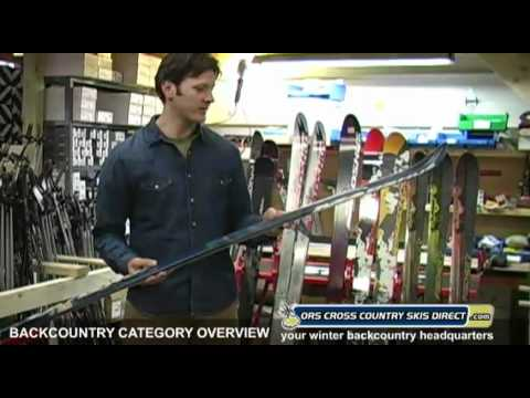 How To Select & Buy Telemark Skis & Backcountry Skis - By ORS Cross Country Skis Direct