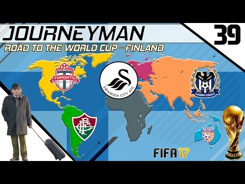Fifa 17 - Journeyman - Road to the World Cup - #39 (Swansea)