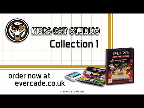 Evercade Mega Cat Studios Collection 1 Cartridge Trailer