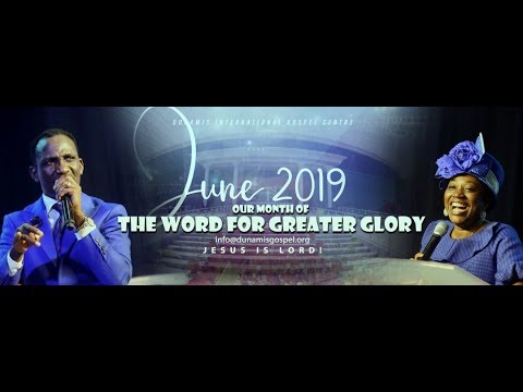 FROM THE GLORY DOME: POWER COMMUNION SERVICE. 19-06-2019