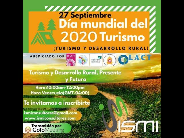 ISMI Consultores - Evento Día Mundial del Turismo - Humberto Lopez