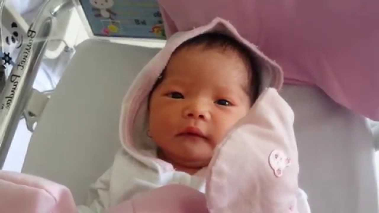 Cutest 1 Day Old Baby Girl