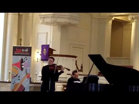 César Franck — sonata for violin and piano in A major (arr. for viola)