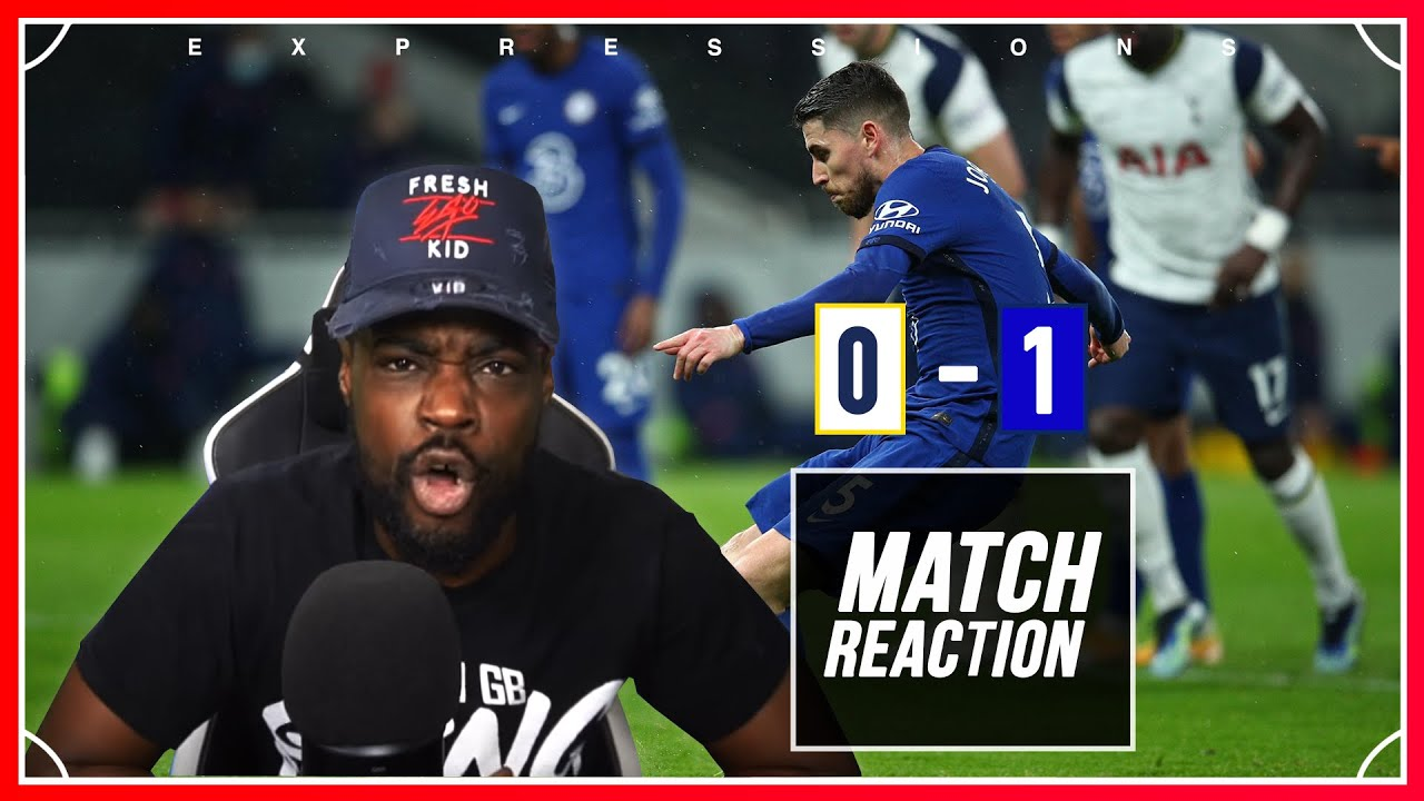 Download I HAVE HAD ENOUGH!!!!!!! 🤬🤬🤬 Tottenham (0) vs Chelsea (1) EXPRESSIONS REACTS