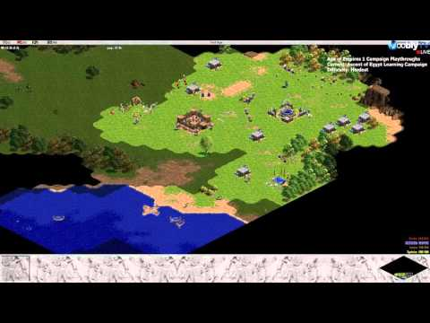 Let's Play Age of Empires 1 - Greek Campaign Part 1/4