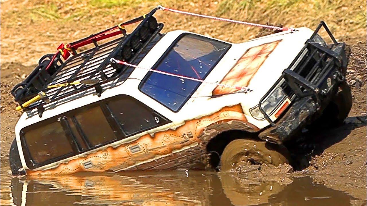 Радиоуправляемые машины в грязи 4х4 — Часть 8