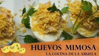 Huevos a la mimosa  Receta fácil