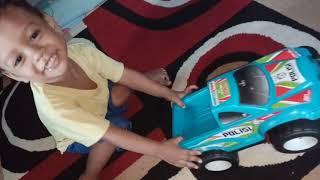 Zaim Playing Police Car