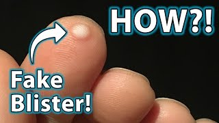 How to do BLISTER Prank Magic Trick!