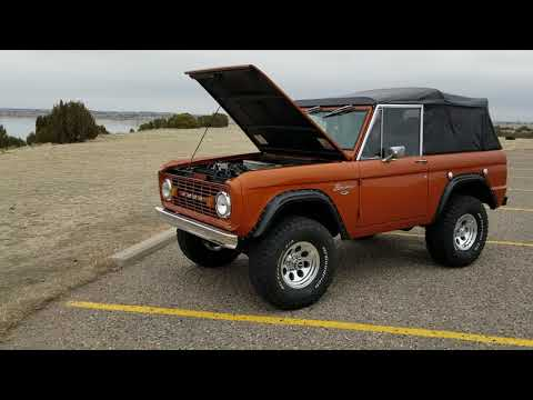 Ford bronco restored