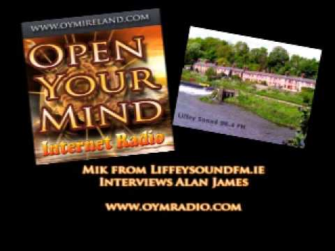 Liffey Sound FM Interview Alan James - OYM Radio