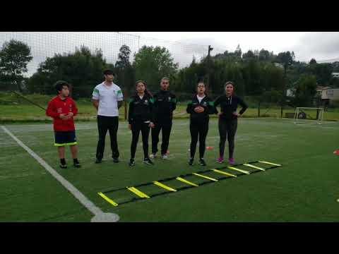 Entrenamiento neuromotor y flexibilidad. // Entrenamiento de fútbol tipo decisional