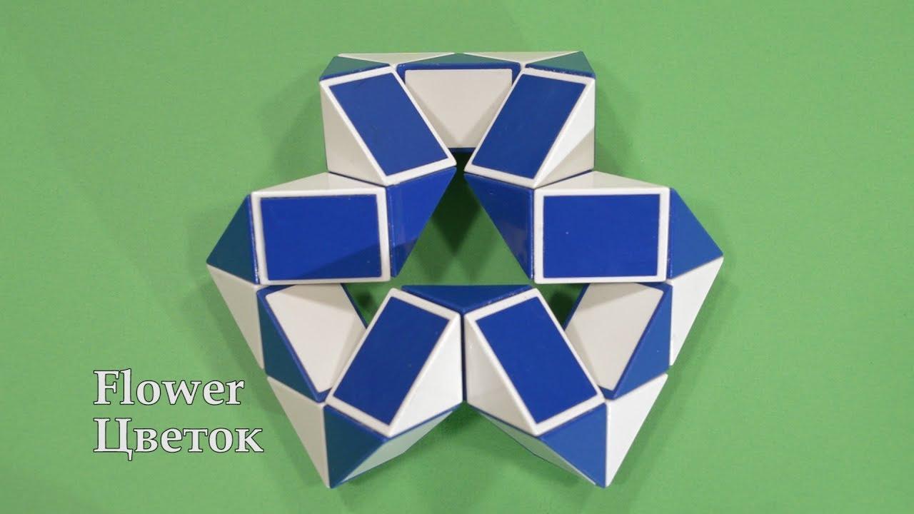 Фото схемы для змейки рубика