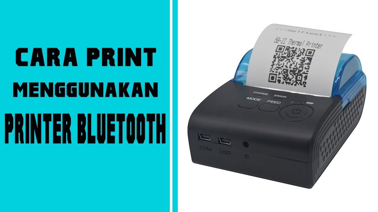 photo regarding Hp Printable known as Cara print Struk Nota as a result of Hp Android menggunakan Printer Bluetooth Thermal