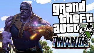 Thanos Mod | GTA 5 Mod Moment Lucu (Bahasa Indonesia)