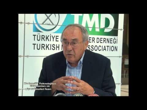 TÜRKİYE MADENCİLER DERNEĞİ - MINING EXPO TURKEY FUARI