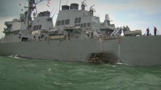 Nova colisão com torpedeiro dos EUA