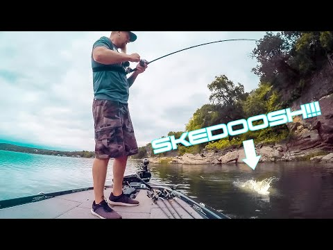 Boat Flippin' Bass With 6th Sense Lux Rod & Dogma 100, Feels Good To Be Back Fishing!
