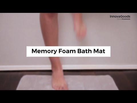 InnovaGoods Home Houseware Memory Foam Bath Mat