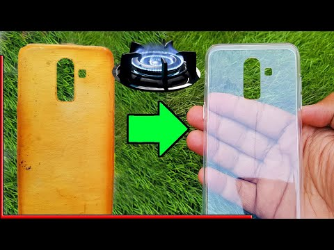 Clean Your Phone Case with Gas flame | Clean Silicon Cover | Clean Phone Case Smartphone Cover R