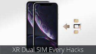 iPhone XR Dual SIM - Hack - Every Solutions (4K Video)-iphone xr sim 2