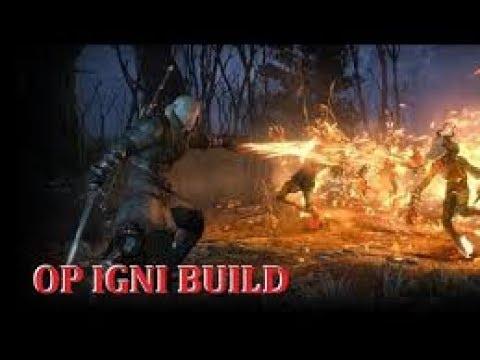 The Witcher  Meilleur Build